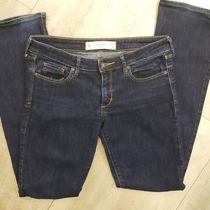 📣2/36$📣 Abercrombie & Fitch dark wash 27x31